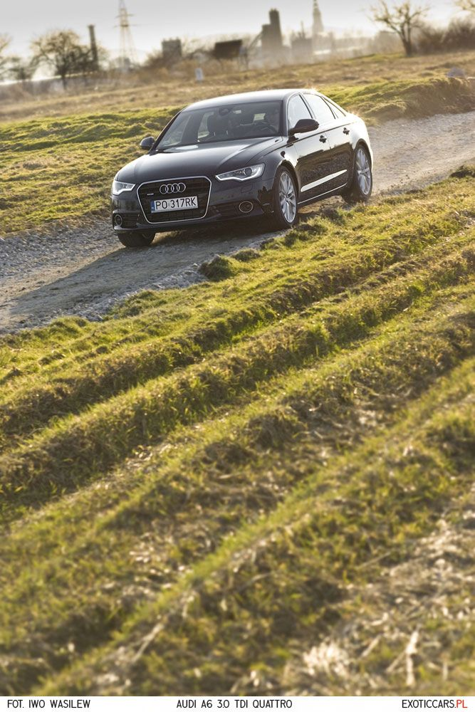 Sometimes we test not-so-exotic cars, but always with powerful engines. Audi A6 3.0 TDI quattro review: http://exoticcars.pl/testy/audi-a6-3-0-tdi-quattro-pj/