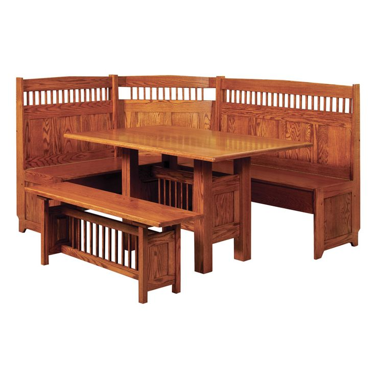 Amish Classic Mission Breakfast Nook