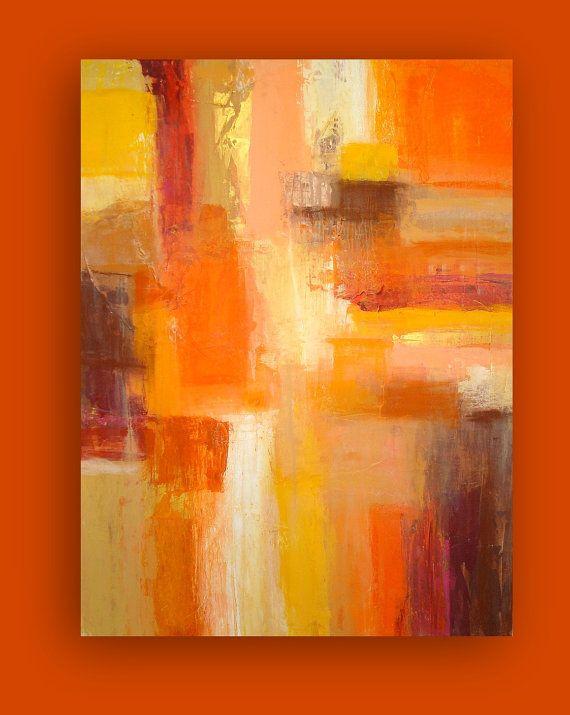 Dies ist ein original eines eine Art Acryl Gemälde von abstrakten Künstler Ora BIrenbaum.  Schöne warme und erdige Töne von gelb, Orange, braun und Rost. Ich akzentuiert dieses Gemälde mit metallic-Gold und Kupfer.  Dieses Gemälde, wenn hoch strukturiert und eine leichte Overlay Pastell besitzt Kreide.  Kommen unterzeichnet, mit einer Schutzschicht versiegelt, und für die einfache Anzeige verdrahtet.  TITEL: Sedona ABMESSUNGEN: 30x40x1.5  MEDIUM: Acryl auf Leinwand DOMINIERENDEN FARBEN…