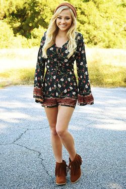 Share to save 10% on  your order instantly!  Keep It Real Romper: Multi