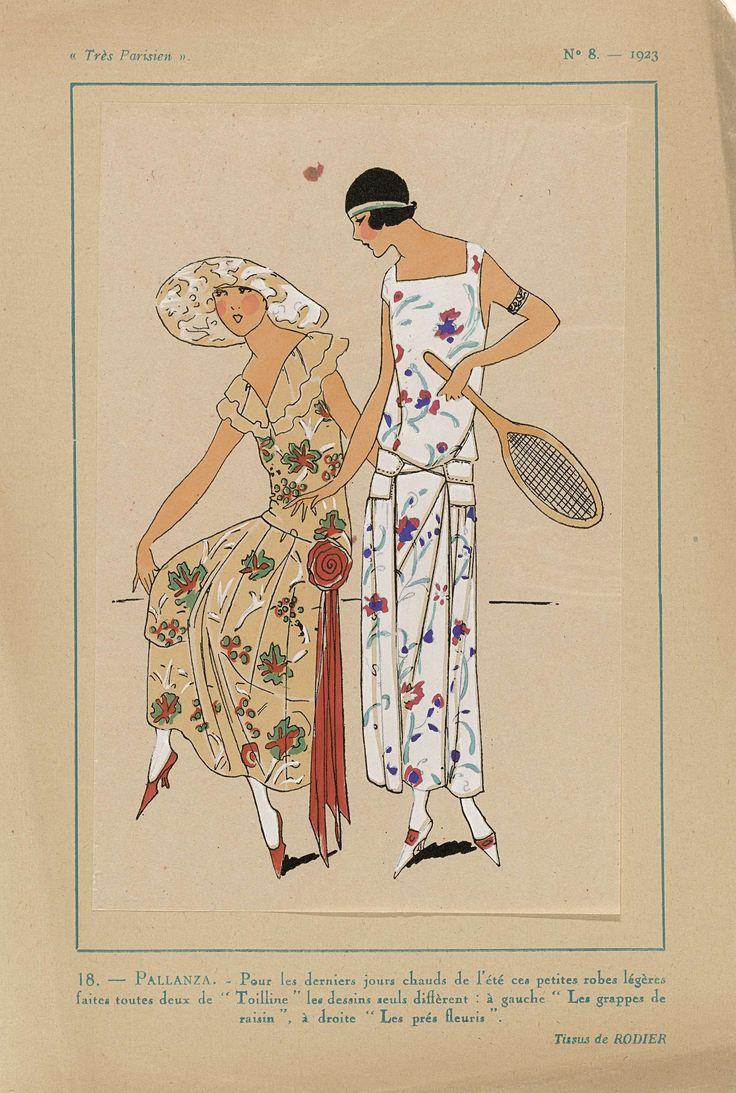 Très Parisien, 1923, No 8: 18.- PALLANZA. - Pour les derniers jours..., Anonymous, Rodier, G-P. Joumard, 1923