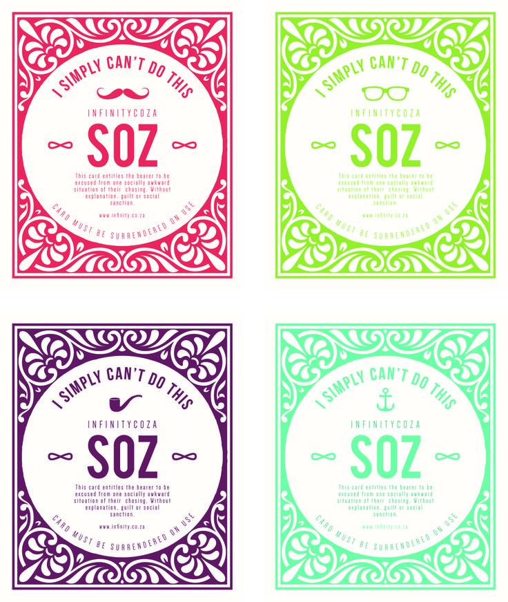 SOZ - Instant Forgiveness