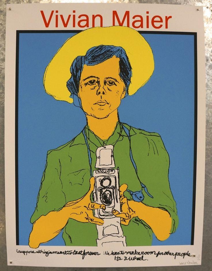 """Image of Tim Kerr """"Vivian Maier"""" art print"""