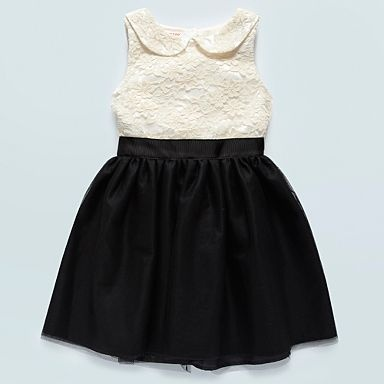 Girl's cream lace bodice dress - Party - Girls dresses - Kids -
