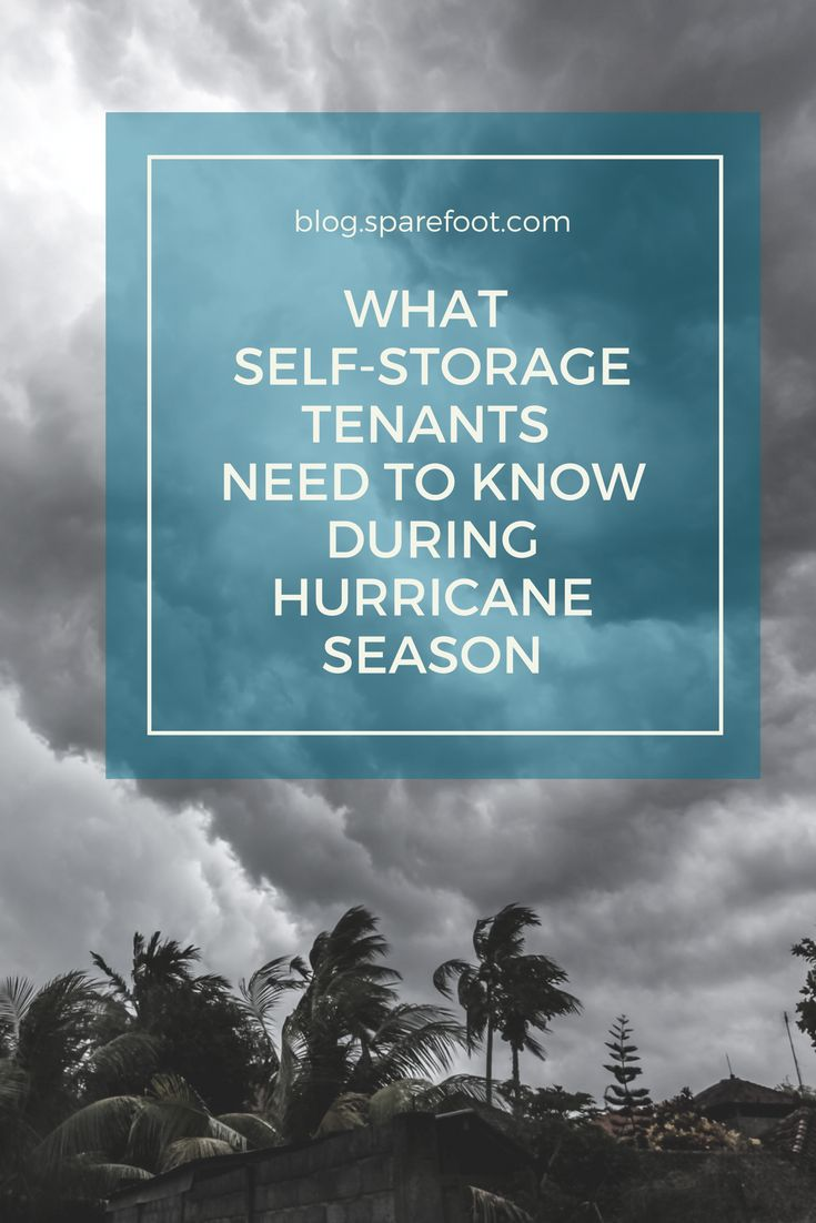 During hurricane season, it's critical to know your rights as a self-storage consumer in case a storm hits. In hurricane-prone states, laws are in place to protect consumers from price gouging during emergency situations like hurricanes.