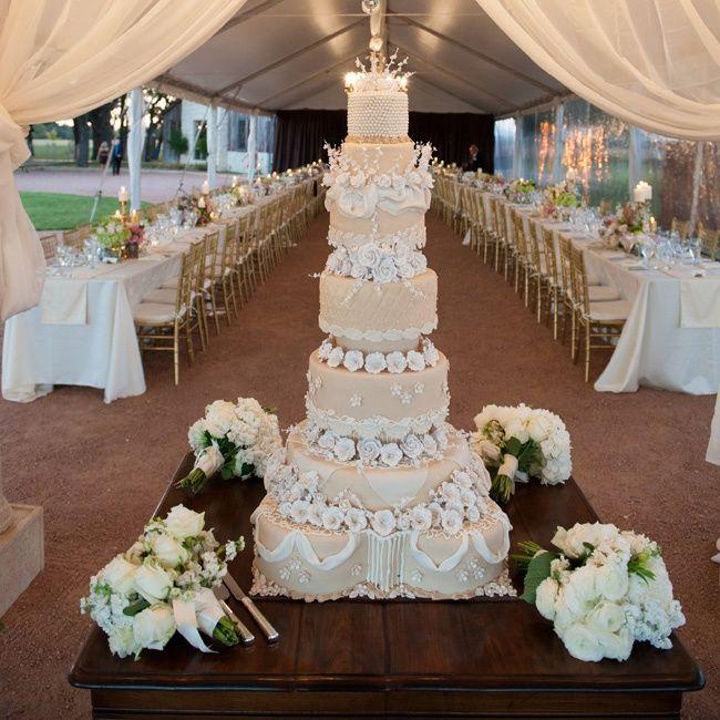 As 25 melhores ideias de fancy wedding cakes no pinterest - Metallic pergola design ideas seven elegant choices ...