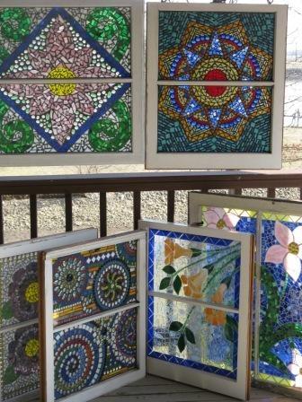 25 Best Ideas About Mosaic Windows On Pinterest Mosaic