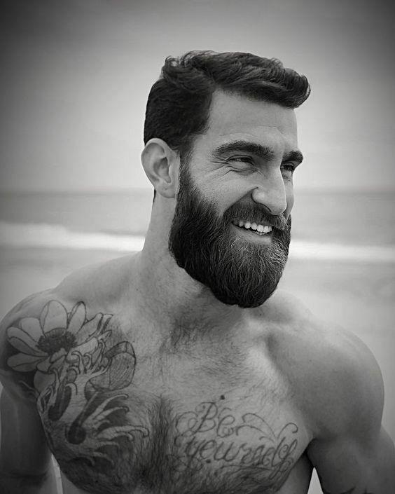 Great Beard Amp Tattoos In 2019 Hair Beard Styles Beard