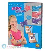 SES glitter tatoeages - Koppen.com