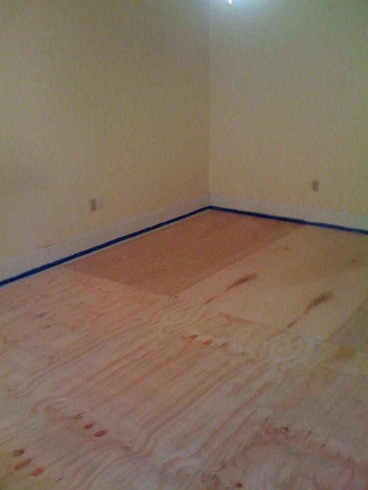 best 25 plywood floors ideas on pinterest stained. Black Bedroom Furniture Sets. Home Design Ideas