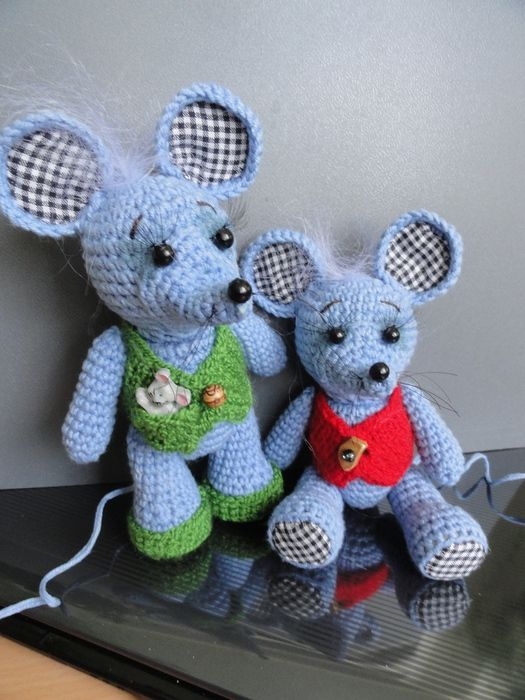 Amigurumi Patterns Free Mouse : 1000+ images about Amigurumi mouse/ mice on Pinterest ...