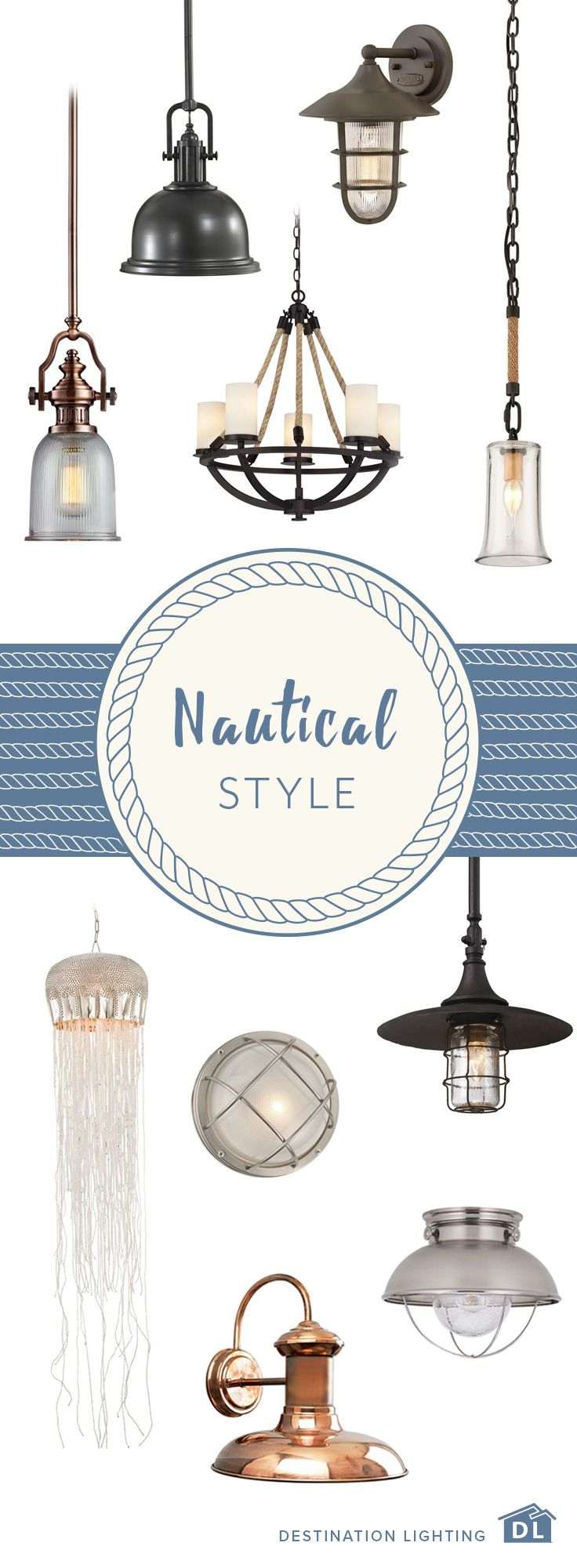 95 best marine nautical lighting decor images on pinterest from classic coastal to hardy marine designs the nautical look never really goes out of nautical lampsnautical stylenautical arubaitofo Image collections