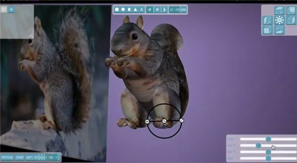 3ders.org - Smoothie 3D creates 3D textured models from photographs for free online | 3D Printer News & 3D Printing News