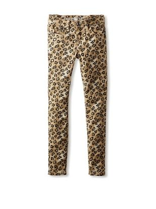 59% OFF Freestyle Revolution Girl's 7-16 Animal Print Jeans (Khaki)