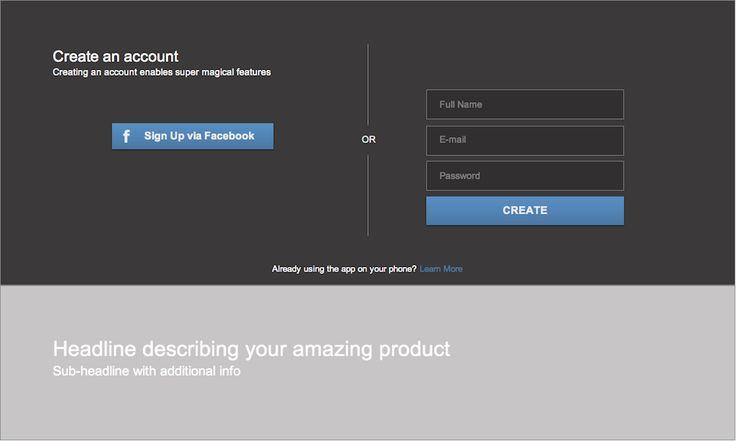 user interface login design - Google Search