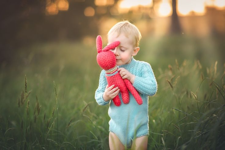 Vintage style, sweet boy. Kissing his bunny. Children photography. Natural light. Fine Art children photography. Melbourne Family Photography