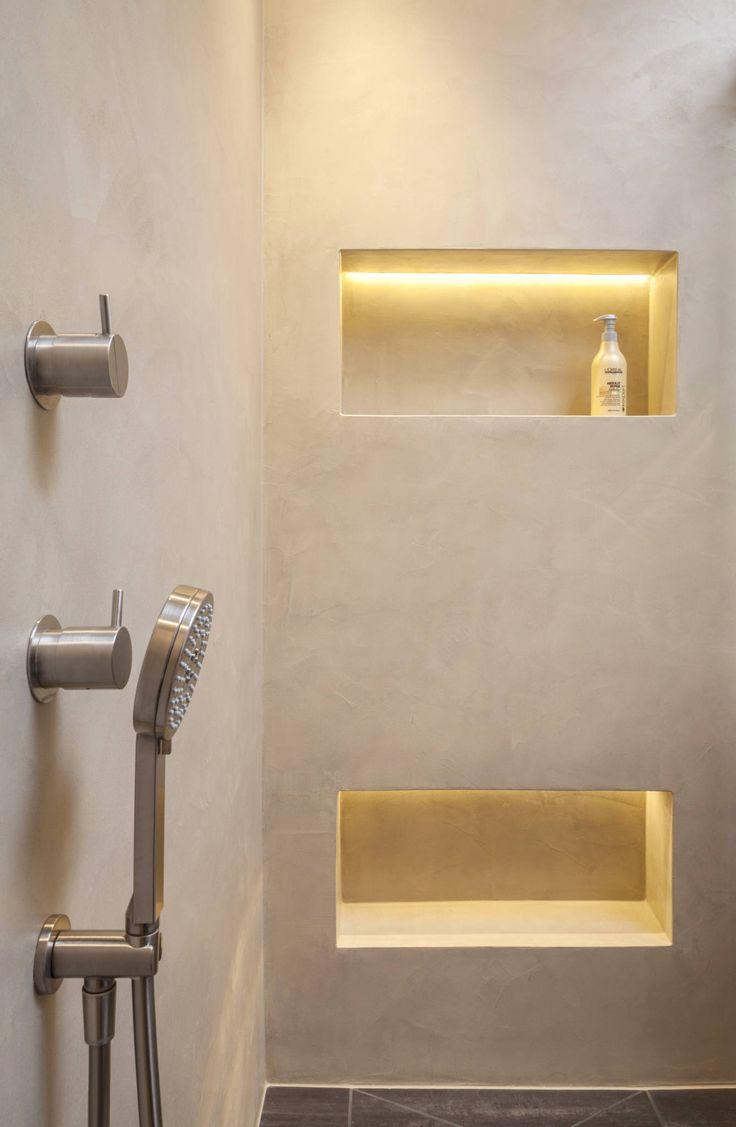 Fugenloses bad mit beton cirè: badezimmer von einwandfrei – innovative malerarbeiten ohg,modern