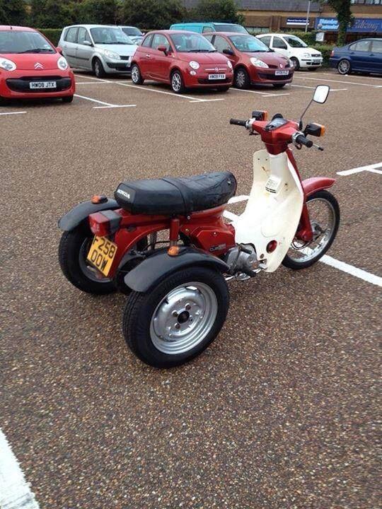 I always wanted a trike!