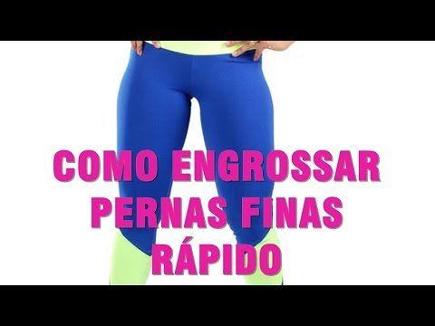 Exercícios para glúteos - Engrossar pernas finas rapidamente, treino em casa. - YouTube
