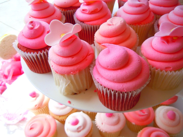 For the love of pink...cupcakes at Bakes & Goods by Yonge & Eglinton in Toronto.