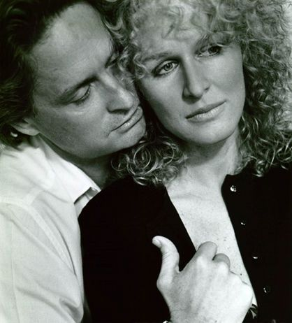 michael douglas and glenn close/fatal attraction: I was married to my fatal attraction at the time...