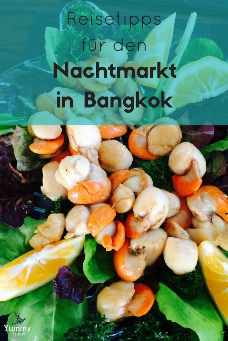 Ich gebe dir Tipps für deinen Thailand Trip. Du erfährst alles was du vor und während deiner Reise nach Bangkok und dem Besuch auf dem Nachtmarkt wissen musst.