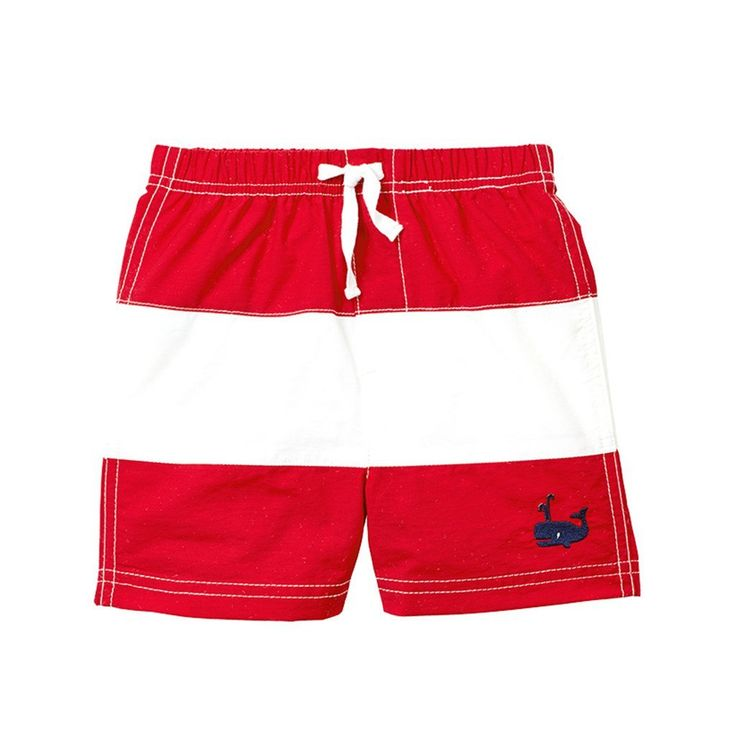 Whale Swim Trunks