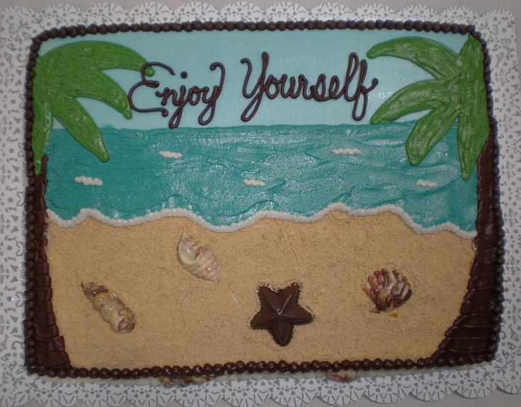 Sheet Cake Designs For Retirement : 25+ best ideas about Retirement Cakes on Pinterest ...