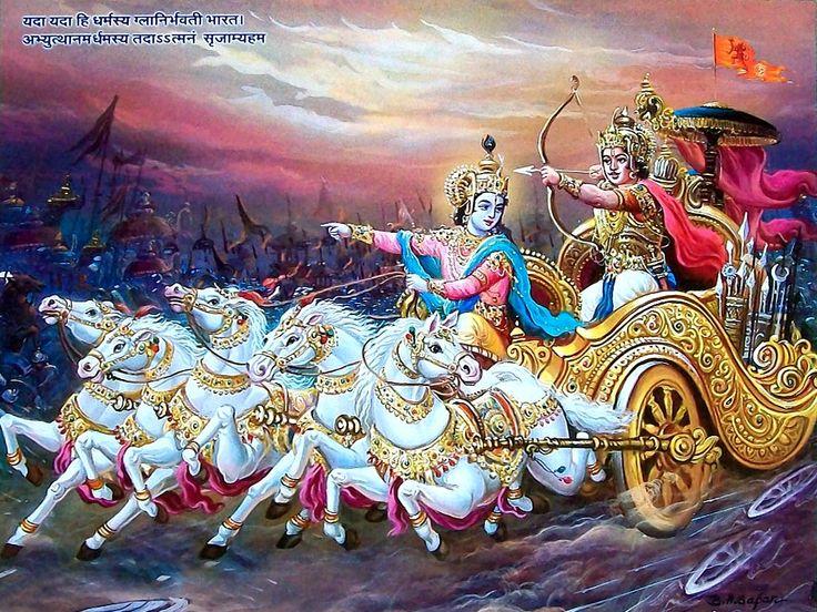 10 Best Krishna Arjun Wallpapers Images On Pinterest