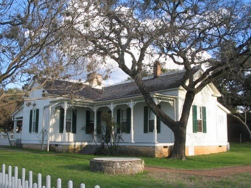 Lyndon Johnson boyhood home, Johnson City, TX