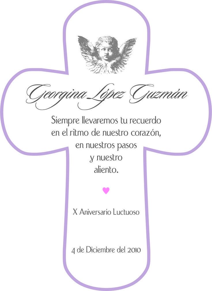 Oraciones Para Invitacion Para Aniversario Luctuoso
