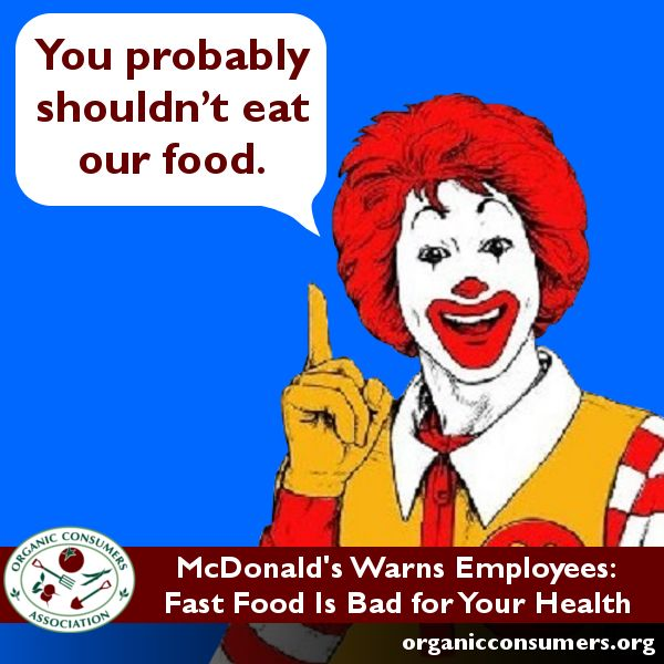 how to know if your food intake is bad