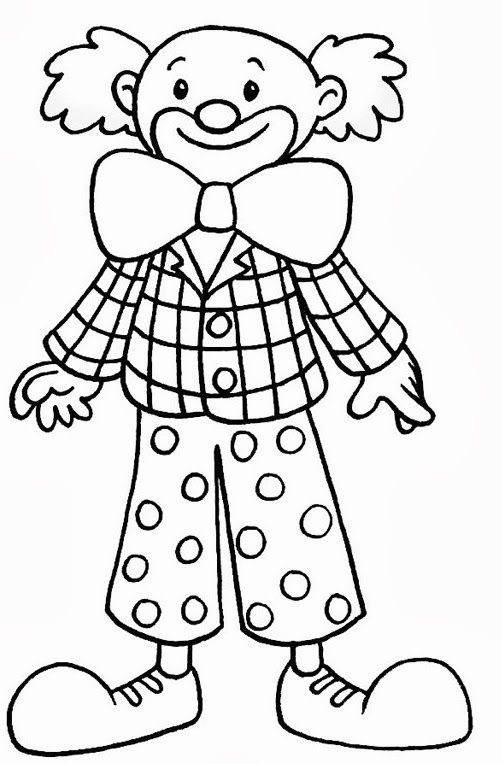 albumarchiv  clown crafts carnival crafts coloring pages