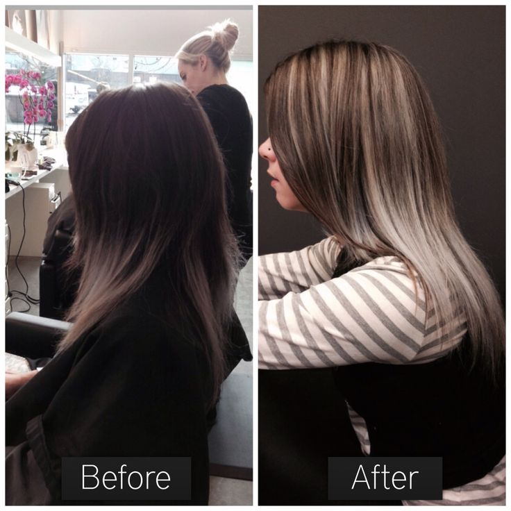 My work! Put in some highlights to blend up the silver ends!