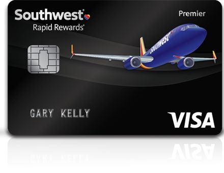 Southwest Airlines Rapid Rewards® Premier Credit Card from Chase