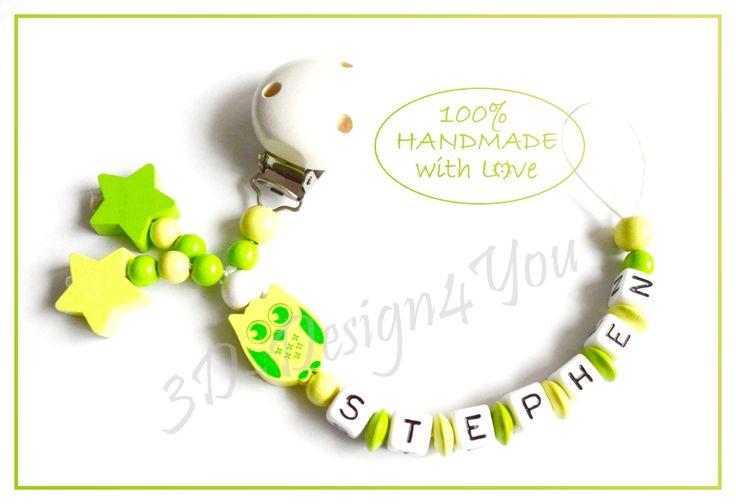 Eulen und Sterne - auch sehr hübsch in grün ;-)