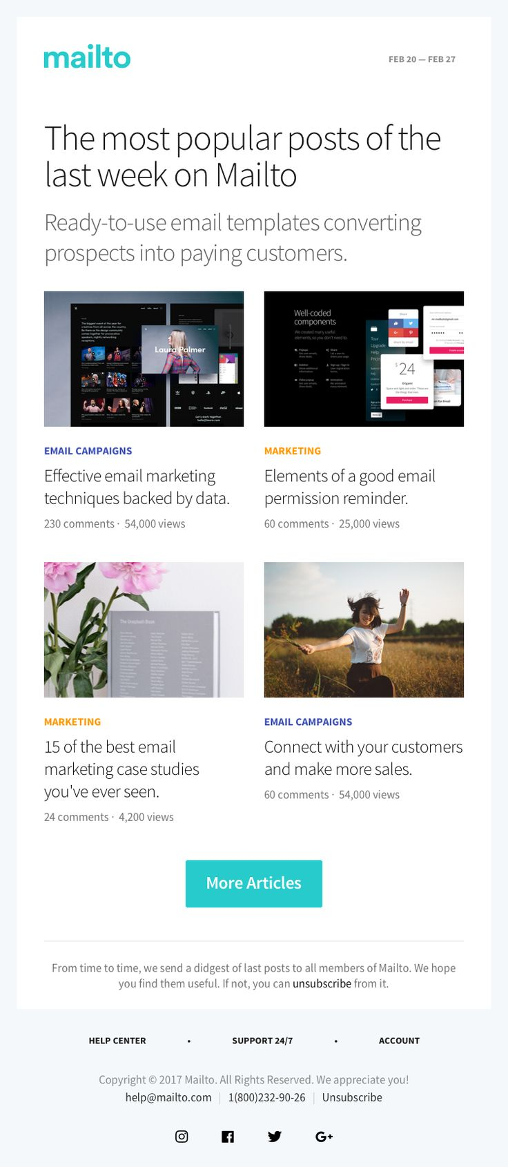 9 best Mailto — Email Templates images on Pinterest | Email ...