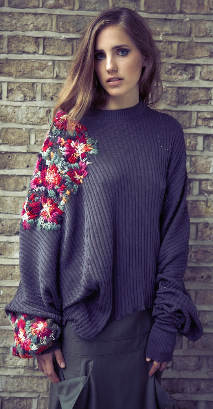 Not sure what I think about doing croche on a knitted top this way?