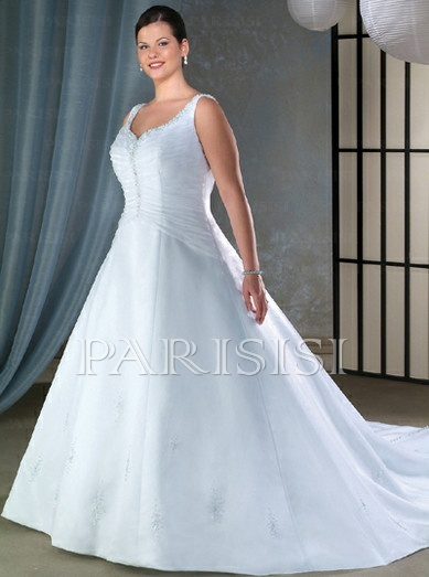 65 best plus size wedding dress images on Pinterest | Bridal gowns ...