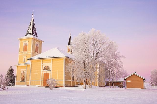 The Church of Muonio