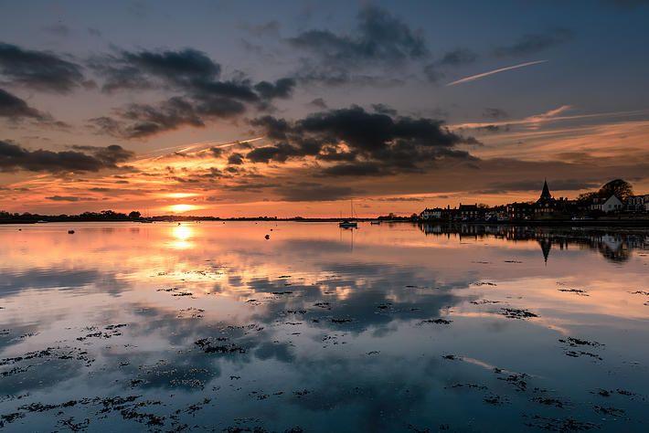 Sunset at Bosham, West Sussex