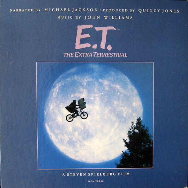 Michael Jackson / John Williams (4) - E.T. The Extra-Terrestrial