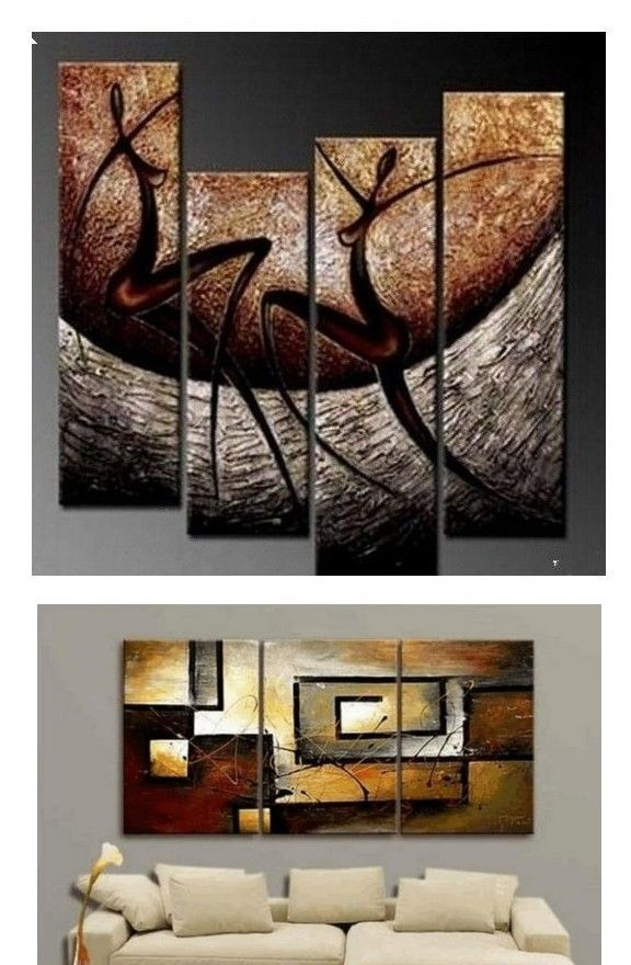 4 Piece Wall Art Abstract Figure Painting Wall Painting Acrylic Art Modern Wall Art Abstract Art Canvas Painting Abstract Painting Abstract Wall Art Painting Abstract Canvas Wall Art Living Room Canvas Painting Online painting for living room