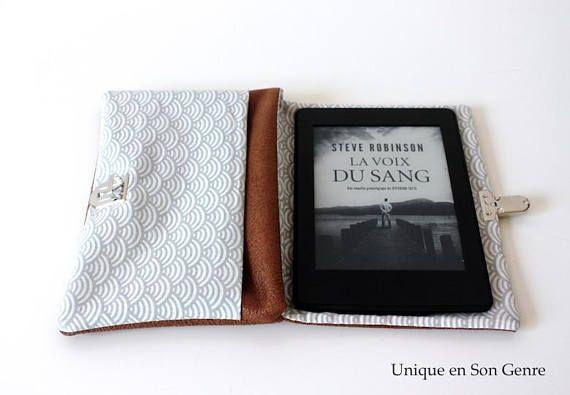 Etui pour liseuse Kindle tablette graphique création Unique en