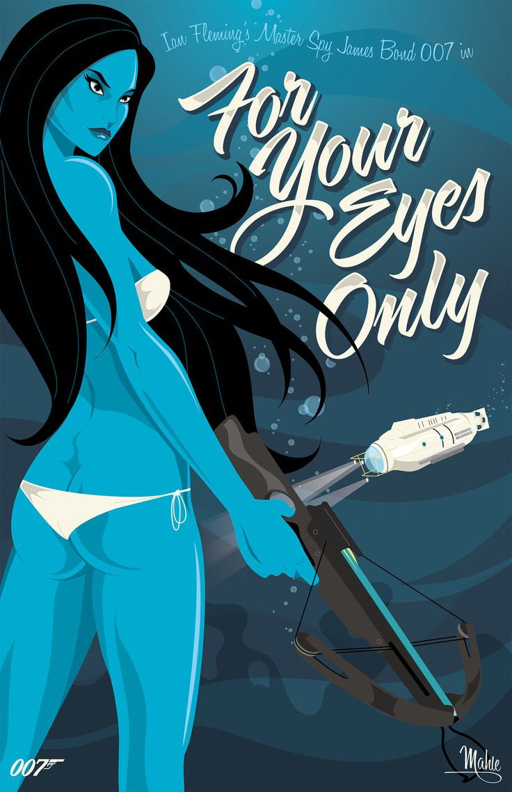 For Your Eyes Only by MikeMahle.deviantart.com on @deviantART