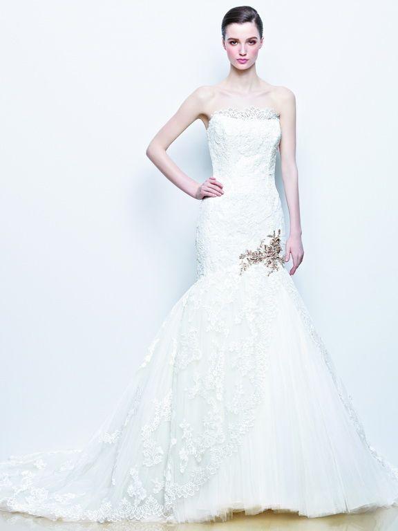 Enzoani wedding dress collection 2014 - Imala lace wedding dress