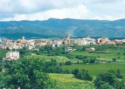 vista del poble d´#Isona #pobles #pallarsjussa #catalonia