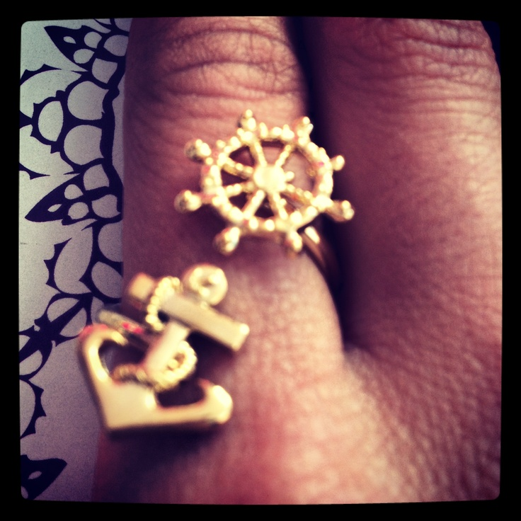 Sail away anchor ring layal glyada