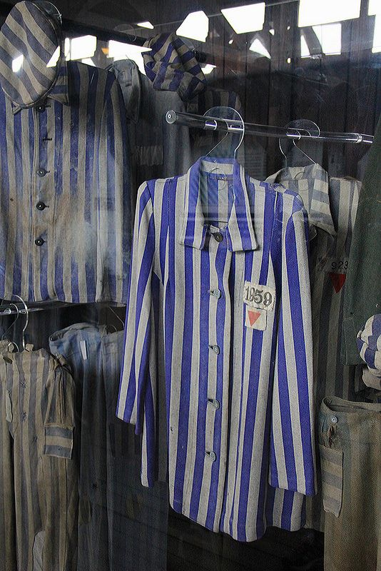 death camp clothings