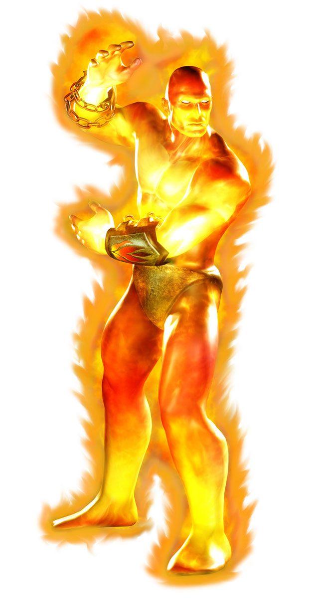 Blaze Official Render from Mortal Kombat Deadly Alliance |